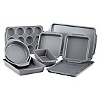 Farberware® 10-Piece Nonstick Bakeware Set in Grey