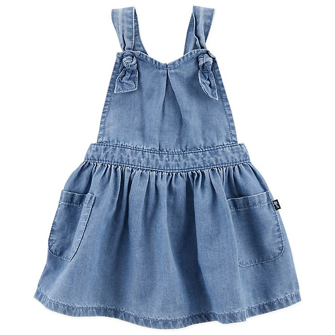 Alternate image 1 for carter's® Chambray Sweetheart Dress