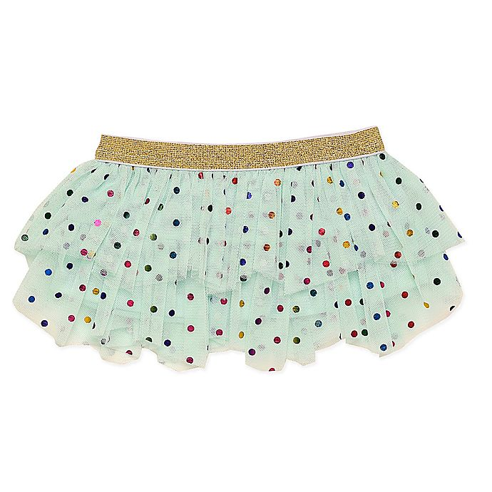 Alternate image 1 for Baby Starters® Polka Dot Tutu in Aqua