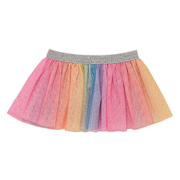 Alternate image 1 for Baby Starters® Tutu Skirt in Rainbow