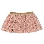 Baby Starters® Size 6M Splatter Print Tutu in Pink/Rose Gold