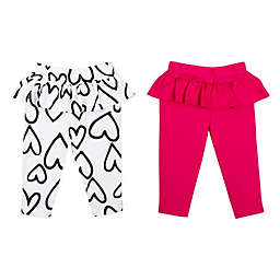 Lamaze® 2-Pack Organic Cotton Ruffle Skirt Pants