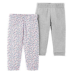 Little Planet™ Organic by carter's® 2-Pack Floral Pants