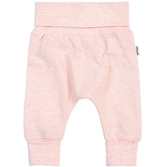 Alternate image 1 for Petite Lem™ Essential Organic Cotton Pant in Pink