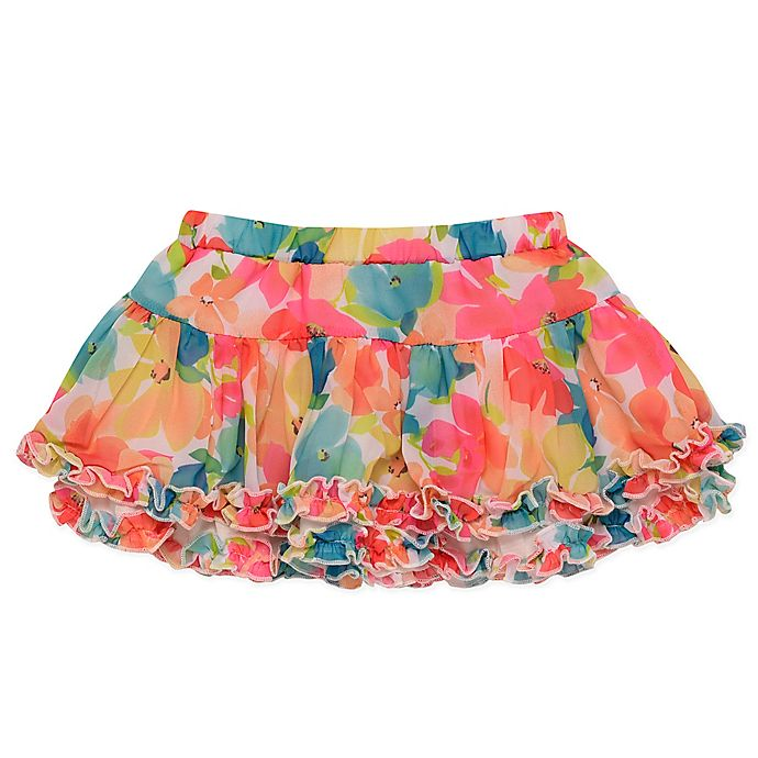 Alternate image 1 for Baby Starters® Floral Tutu Skirt