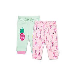 Rosie Pope Baby® 2-Pack Flamingo and Pineapple Pants