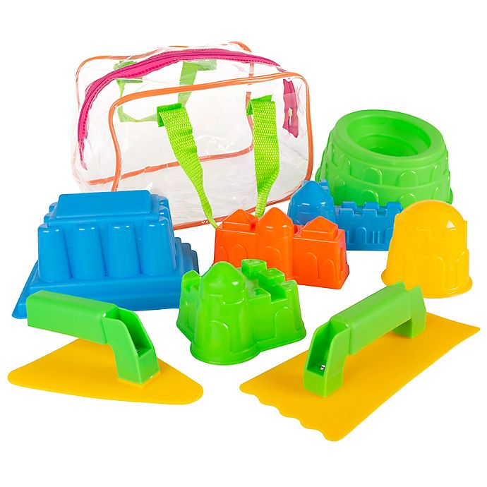 Alternate image 1 for Hey! Play! 9-Piece Sand Toy Set