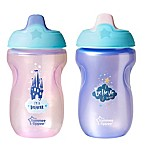 Tommee Tippee® 2-Pack Sippee Cup in Pink/Purple