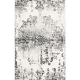 "Home Dynamix Boho Medallion 5'2"" x 7'2"" Area Rug in Ivory/Grey"