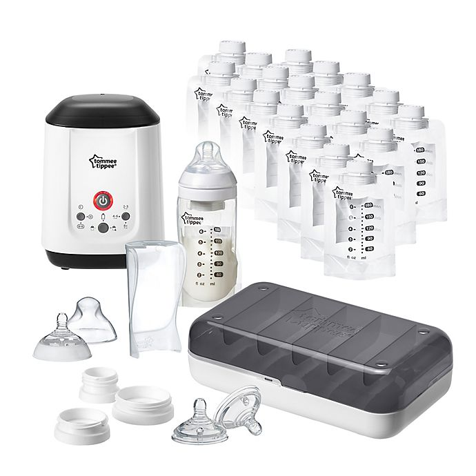 Alternate image 1 for Tommee Tippee® Pump and Go™ Complete Starter Set
