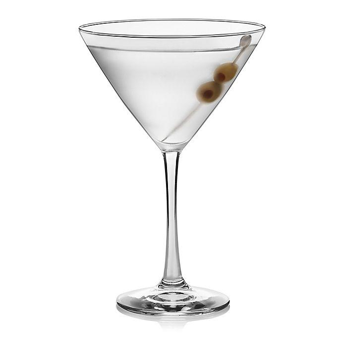 Alternate image 1 for Libbey® Vina Martini Glasses in Clear (Set of 6)