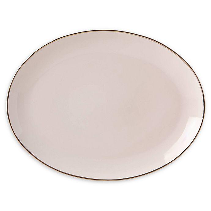 Alternate image 1 for Lenox® Trianna Blush™ 14.5-Inch Oval Platter
