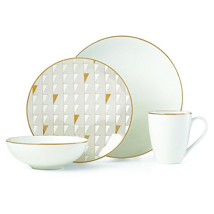 Alternate image 1 for Lenox® Trianna White™ Dinnerware Collection
