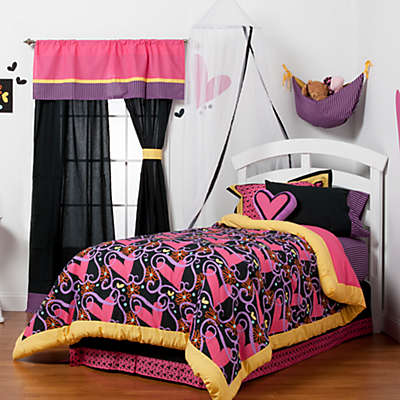 One Grace Place Sassy Shaylee 4-Piece Full Bedding Set