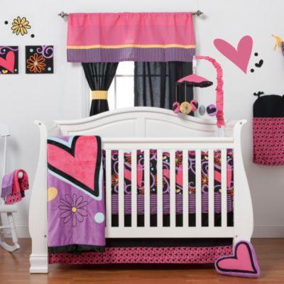 One Grace Place Sassy Shaylee Crib Bedding Set