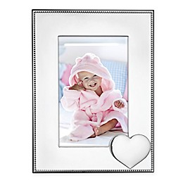 Reed & Barton Precious Heart™ 4-Inch x 6-Inch Picture Frame