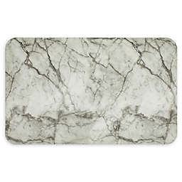 Mohawk Home® Marble Lux Ultra Cushion Kitchen Mat in Grey/White