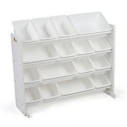 Tot Tutors Cambridge Super-Sized Toy Organizer in White