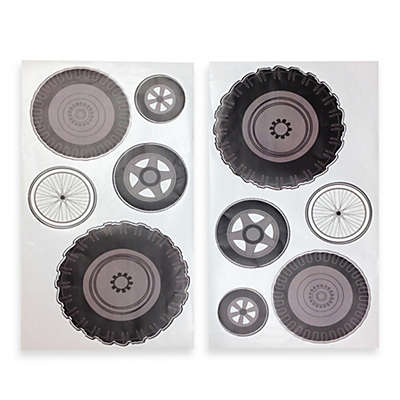 One Grace Place Teyo's Tires Tires Wall Decals