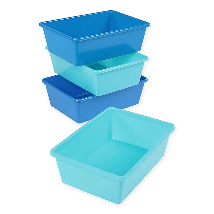 Alternate image 1 for Tot Tutors Large Storage Bins (Set of 4)