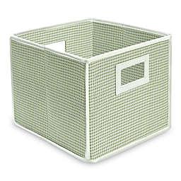 Badger Basket Medium Gingham Folding Storage Cube