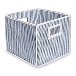 Badger Basket Medium Gingham Folding Storage Cube