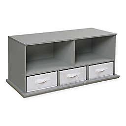 Badger Basket 3-Basket Stackable Shelf Storage Cubby