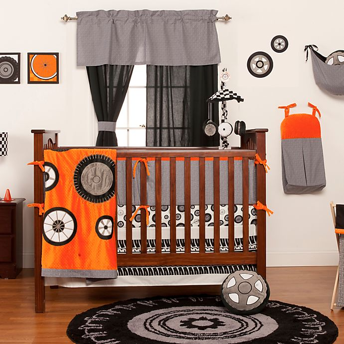 Alternate image 1 for One Grace Place Teyo's Tires 3-Piece Crib Bedding Set