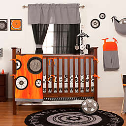 One Grace Place Teyo's Tires 3-Piece Crib Bedding Set