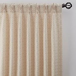 Boratta Geo Pinch Pleat Window Curtain Panel