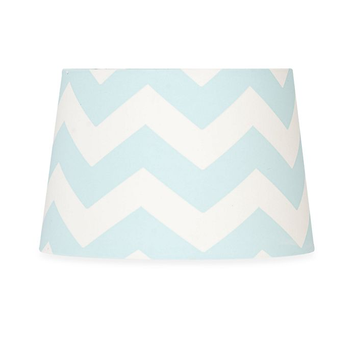 84aac1d0cdc1 Lolli Living™ by Living Textiles Mix   Match Zigzag Lamp Shade in Aqua