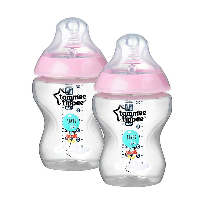 Tommee Tippee Closer to Nature 2-Pack Anti-Colic Bottle 5 Ounce Clear