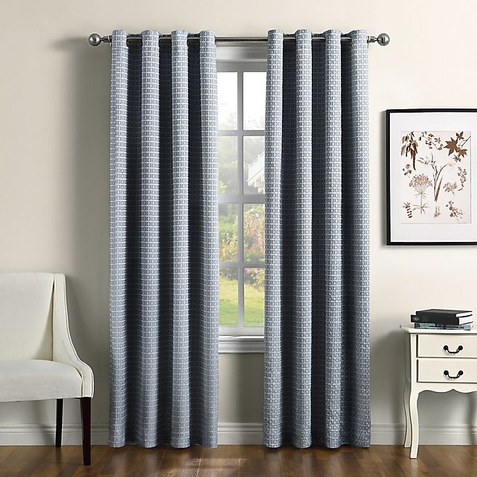 Alternate image 1 for Therapedic® Camilla 100% Blackout Grommet Window Curtain Panel