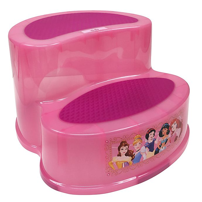 Alternate image 1 for Ginsey Disney® Princess 2-Tier Step Stool