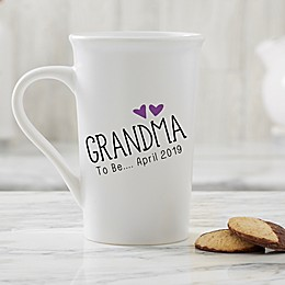 Personalized Grandparent Established 16 oz. Latte Mug