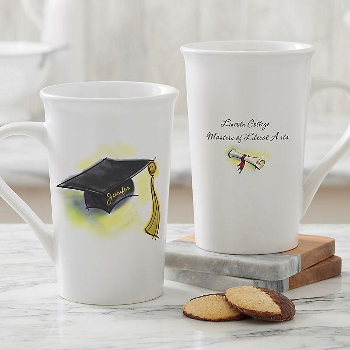 Alternate image 1 for Cap & Diploma Personalized Mug