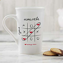 Personalized Love Always Wins 16 oz. Latte Mug