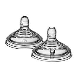 Tommee Tippee Closer to Nature 2-Pack Medium Flow Silicone Nipples