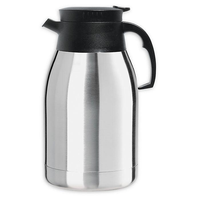 Alternate image 1 for Oggi™ Coronado 2-Liter Stainless Steel Carafe