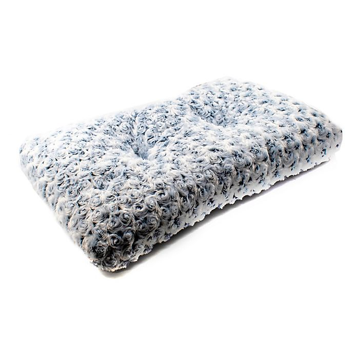Alternate image 1 for Shaggy Cushioned Pet Bed Mat in Grey