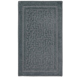 Mohawk Home Aztec-Inspired Dream Rug in Storm Blue