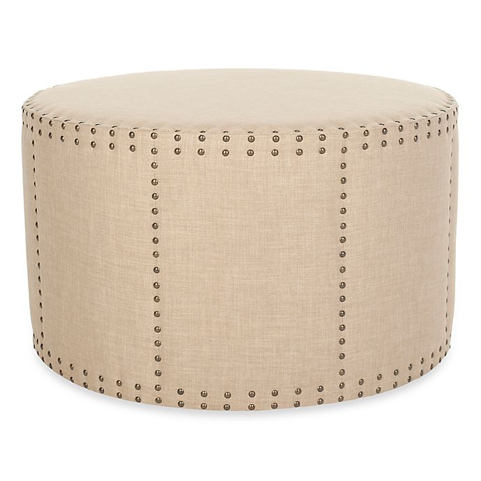 Incredible Safavieh Sherri Ottoman In Straw Bed Bath Beyond Gamerscity Chair Design For Home Gamerscityorg