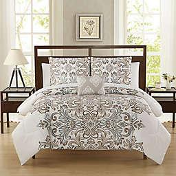 Carine 12-Piece Reversible Comforter Set