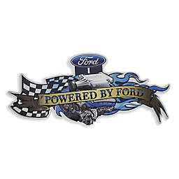 American Art Decor™ Powered by Ford Vintage Embossed Metal Wall Decor Sign