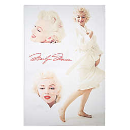 Marilyn Monroe White Robe 24-Inch x 36-Inch Canvas Wall Art