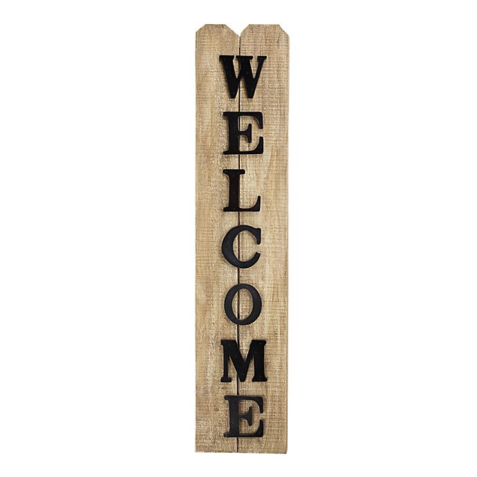 Alternate image 1 for Welcome Wood Sign