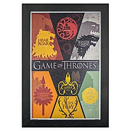 """""""Game Of Thrones"""" Siglis 13-Inch x 19-Inch Framed Wall Art"""