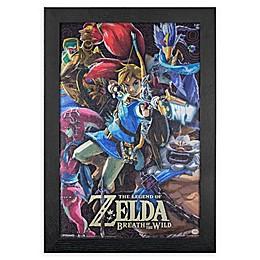 Nintendo® Zelda 13-Inch x 19-Inch Framed Wall Art