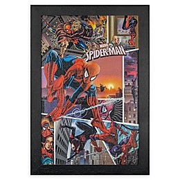Marvel® Spider-Man 13-Inch x 19-Inch Framed Wall Art