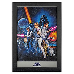 Star Wars Episode IV 13-Inch x 19-Inch Framed Wall Art